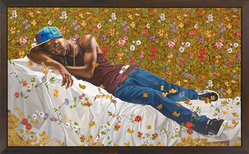 Kehinde Wiley, Morpheus. Oil on canvas